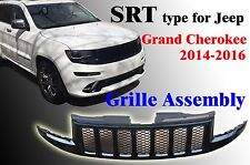 JEEP GRAND CHEROKEE WK14 2014-16 SRT Type Grille Assembly Gloss Black CH1210116