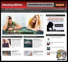 Overcoming Addiction Niche Blog Website Affiliate Income Free Hosting Setup