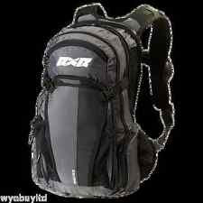 Black Shelter inflatable padded backpack rucksack extreme sports mountain biking
