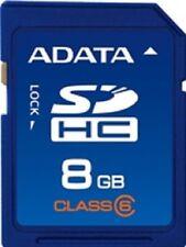 A-DATA SECURE DIGITAL SDHC 8GB  SD HC 8 G GB CLASSE 6
