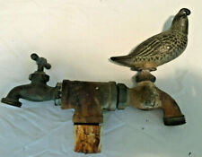 Heavy Quail Brass Faucet Spigot Possibly Whitehall - Free Shipping via USPS