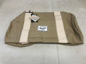 HERSCHEL SUPPLY CO Sutton Mid Duffle Bag 22L Washed Khaki/Bone