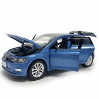 All New Polo Plus 2019 1/32 Die Cast Modellauto Spielzeug Kinder Sammlung Blau