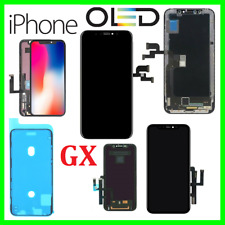 DISPLAY SCHERMO PER APPLE IPHONE X XR XS MAX 11 PRO HARD SOFT OLED GX TOUCH LCD