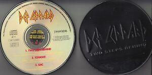 Def Leppard  CD-MAXI TWO STEPS BEHIND  /  BLECHDOSE  LIMITIERT