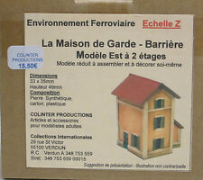Echelle Z - La Maison de Garde Barriere - type Est - Colinter Productions :