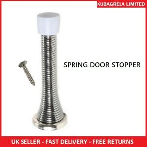 SPRING DOOR STOPPER - Stops door spiral buffer door wedge stops slamming