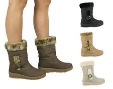 Women's Synthetic Pull on Snow, Winter Boots