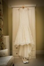 Maggie Sottero Designer Wedding Dress, Ivory, UK size 12, professionally cleaned