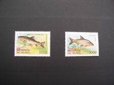 MNH LOT of 2 stamps - FISHES - salmo trutta/vimba - BELARUS - 1997 (1) #38