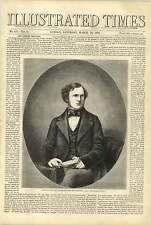 1858 Lord STANLEY MP segretario per le colonie le relazioni estere rivolta indiana