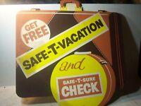 Classic Chrysler dealership sign banner display safety check mopar vacation