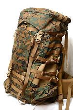 New Gen 2 USMC Digital MARPAT ILBE Main Pack Complete W Hip Belt/Lid/Radio Pouch