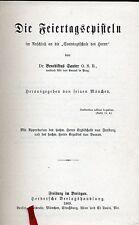 Benediktus Sauter @ la feiertagsepisteln @ marmorierter sección 1909 @ top formaci