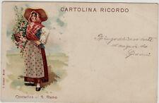 #SAN REMO: COSTUME - CONTADINA DI S. REMO