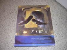 1990.FIMA / Javault.peinture art.signé par Ephraim Fima