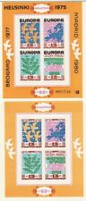 BULGARIA Sc 2206 + OVERPRINT NH issue of 1974 - EUROPA - PEACE CONFERENCE