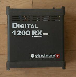 Elinchrom Digital RX 1200 Power Pack -