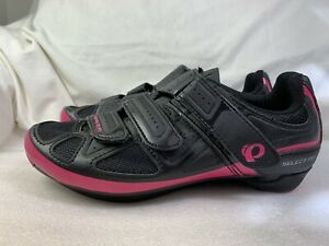 Pearl Izumi 15214005 Women's Select Road III 3 Black/Pink Cycling Shoes 39.5