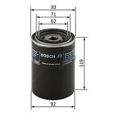 BOSCH Oil Filter 0451103278 - Single