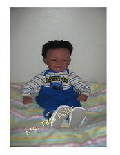 "Reborn Ethnic/Biracial 22"" Infant toddler Doll Baby Boy Amir"