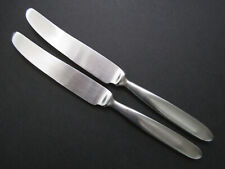 """New listing 2 Cambridge """"Townhouse Satin"""" Stainless Steel Dinner Knives 9"""" used"""