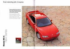 Mazda MX-6 2.5i V6 1994-96 UK Market Sales Brochure