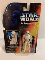 "1995 Kenner Star Wars The Power of the Force TPOTF Stormtrooper 3 3/4"" Figure"