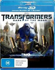 Transformers 3: DARK OF THE MOON : NEW Blu-Ray 3D