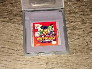 Mystical Ninja Goemon w/Case Nintendo Game Boy Cleaned & Tested Authentic