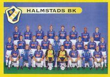068 TEAM LAGBILD # SWEDEN HALMSTADS.BK STICKER FOTBOLL ALLSVENSKAN 1999