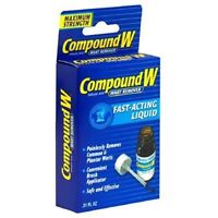Compound W Wart Remover, Maximum Strength, Fast-Acting Liquid, 0.31-Ounce...