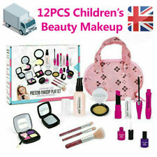 12PCS Girls Pretend Play DressUp Beauty Makeup Toys Gifts Set Princess Fashion
