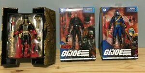 **GI Joe Classified Lot of 3 Cobra Commander**Major Bludd**