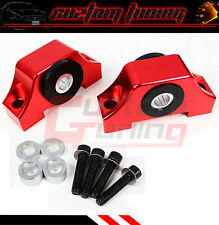 For 94-01 Acura Integra B & D Series JDM Red Engine Motor Torque Mount Kit
