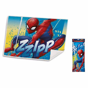 Tovaglietta pranzo Marvel Spiderman asciugamano bambini per asilo e scuola 2650