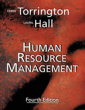 Human Resource Management by Derek Torrington, Laura Hall (Paperback, 1998)