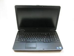 """Dell E6540 15"""" Laptop 2.7 GHz i7-4800MQ 4GB Grade C No Battery, Webcam, Optical"""