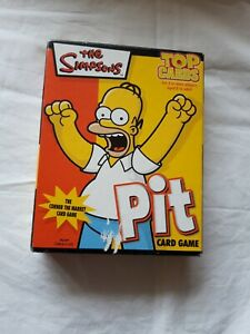 THE SIMPSONS 2005 - PIT CARD GAME - TOP CARDS - COMPLETE - NEW/OTHER.