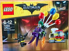 LEGO SET BOITE NEUF 70900 BATMAN THE MOVIE THE JOKER BALLOON ESCAPE