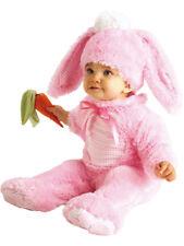 Child Precious Pink Easter Rabbit Wabbit Fancy Dress Costume Bunny Kids Girls