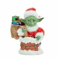 * STAR WARS YODA IN CHIMNEY 5 1/2-INCH KURT S. ADLER TABLE PIECE *