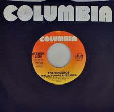 """7"""" THE SINCEROS Worlds Apart / Walls Floors COLUMBIA New-Wave Power-Pop USA 1979"""