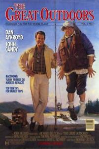 THE GREAT OUTDOORS ADVANCE(1988)JOHN CANDY/DAN AYKROYD ORIG 1SH  POSTER ROLLED