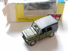 A34 UAZ 469 4x4 in MILITARY OLIVE, radon NOVOEXPORT URSS USSR CCCP 1:43 Boxed!