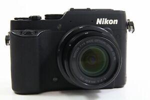 Nikon Coolpix P7800 schwarz, sehr guter Zustand