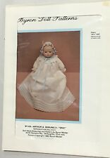 """Nos 1982 Byron Doll Clothing Pattern Eric For 14 1/2"""" Dolls Uncut By63"""