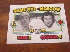 2009 10 ITG 1972 The Year In Hockey #194 Vladiir Petrov Tony Esposito - Summit B