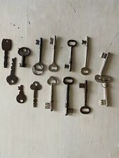 New Listinglot of 7 skeleton keys plus a few other old vintage metal collectible rare htf