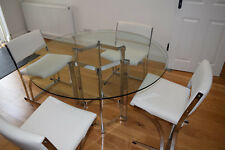 Vintage Merrow Associates Dining Table & 6 Chairs.